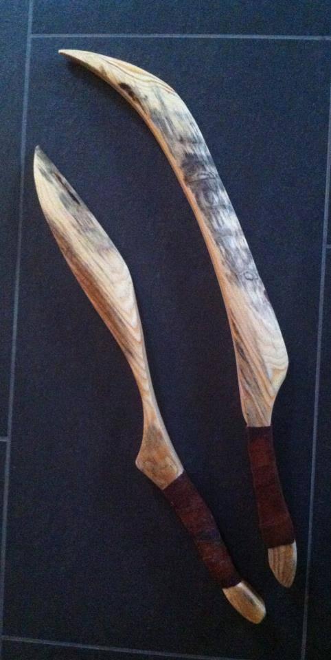 """Holzmesser gross """"verkauft 2013"""""""