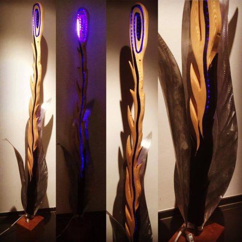 Bluelight-Flower LED (VERKAUFT 2017)