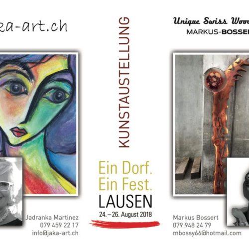 Ausstellung Lausen Dorffest 2018