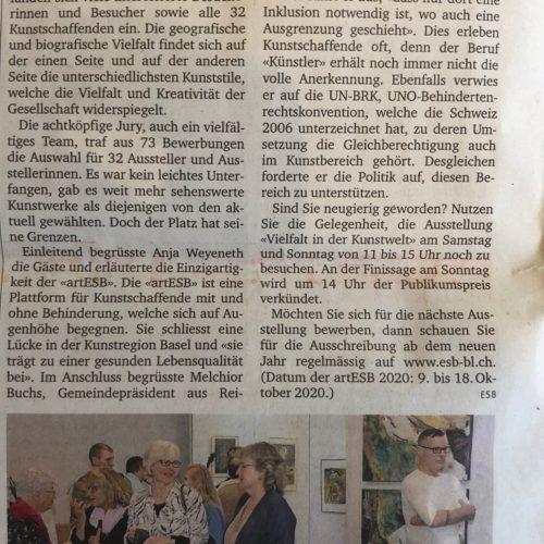 Zeitungsbericht ObZ 17.10.2019