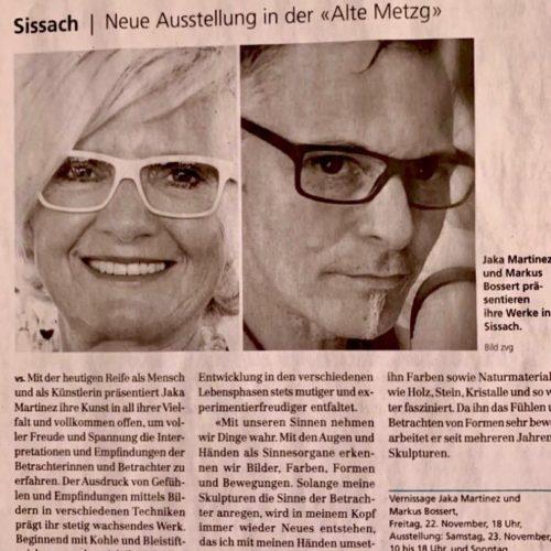Zeitungsbericht Volkstimme 14.11.19