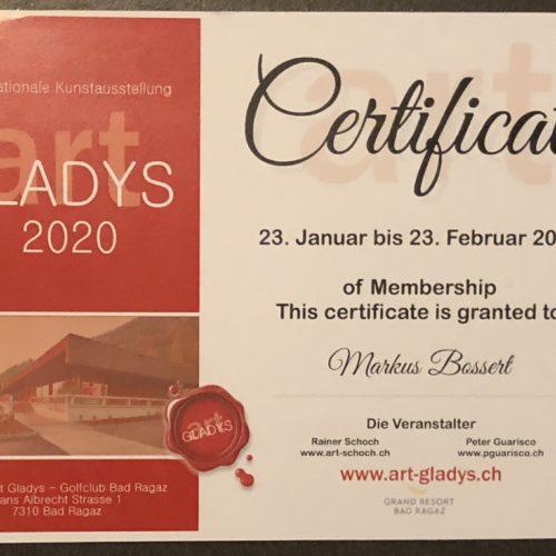 Nächste Ausstellung Art Gladys 2020 Golfhotel Bad Ragaz