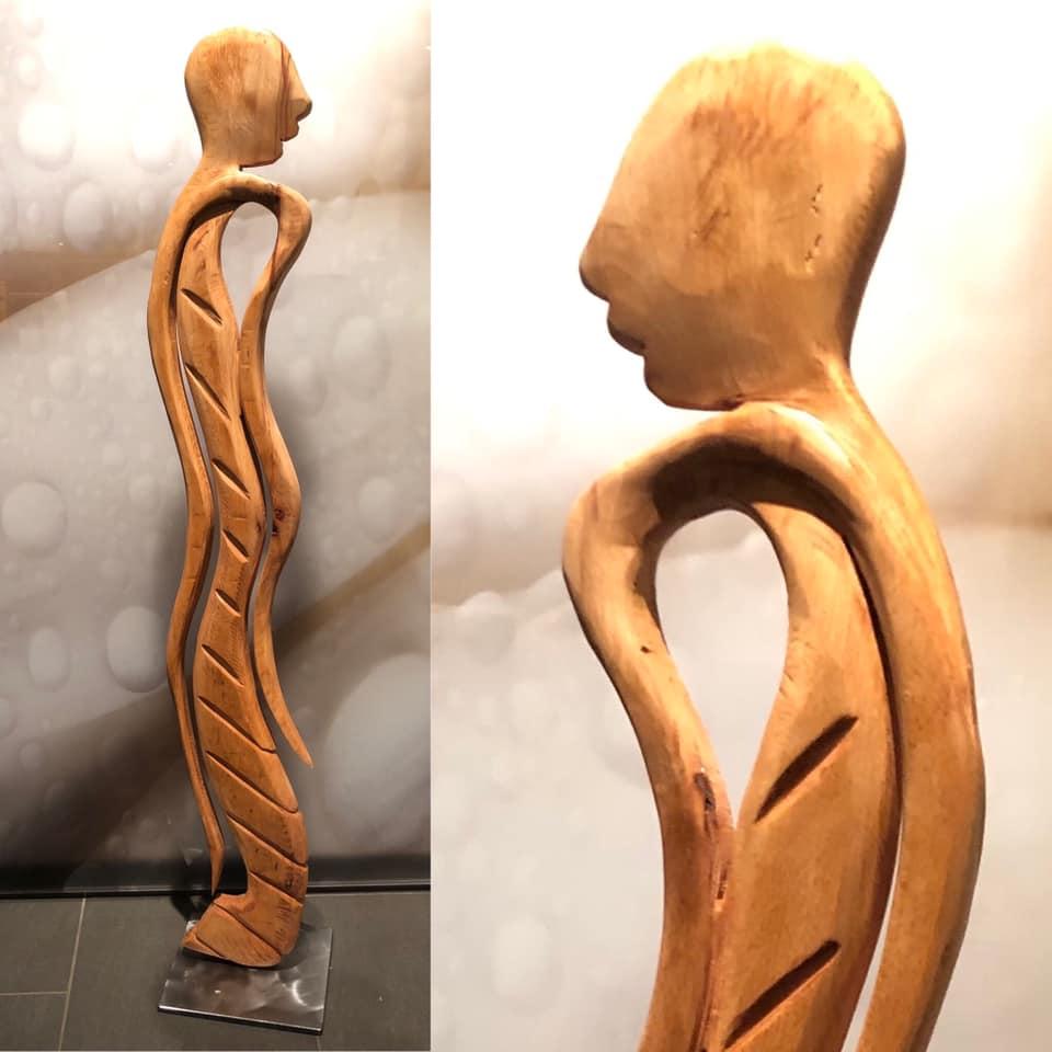 """Skulptur: Menschen im Fokus 6 """"verkauft 2021"""""""