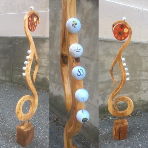 """Skulptur Golf """"verkauft 2016"""""""