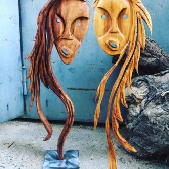 Skulptur doppel